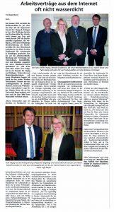 Dr. Katrin Stoye Anwalt Arbeitsrecht 26789 Leer Arbeitsverträge
